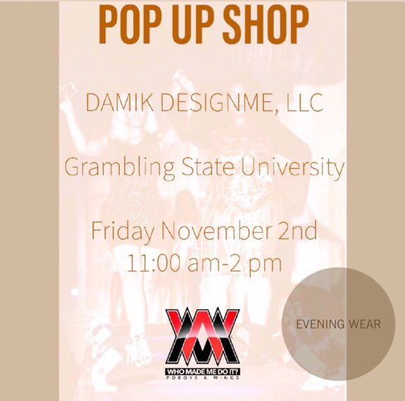 Get ya outfit for the Concert from Damik. Or be matching with everybody else in the crowd. Sexy guaranteed. #Gramfam