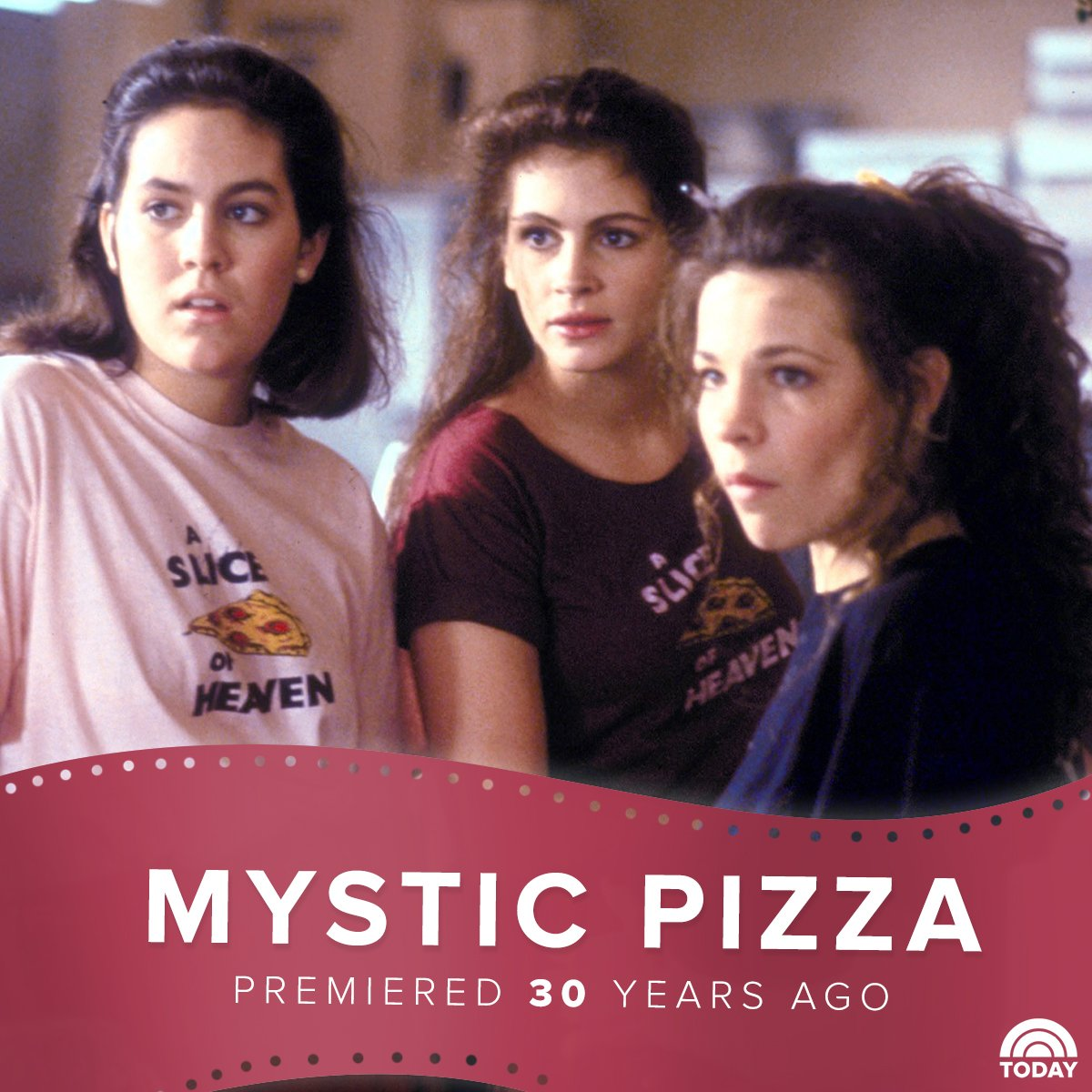 Treat yourself to a slice of heaven! 'Mystic Pizza' was released on this day 30 years ago. https://t.co/w3Uylrc0qS