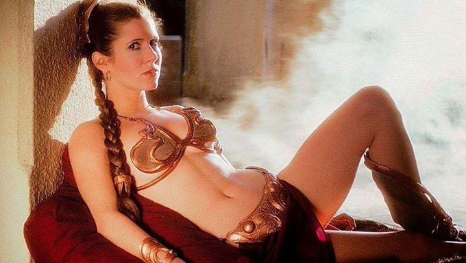 Happy Birthday to our princess Carrie Fisher! RIP