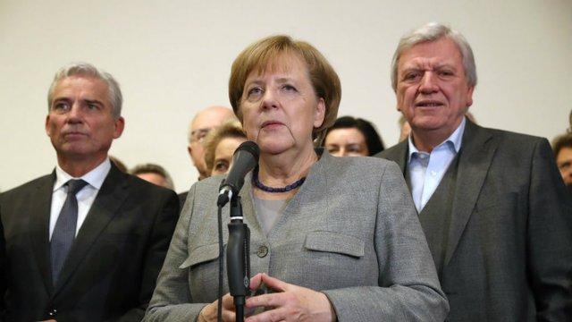 Merkel says Germany should halt arms exports to Saudi Arabia after killing of journalist  https://t.co/D2v7oP7jTb
