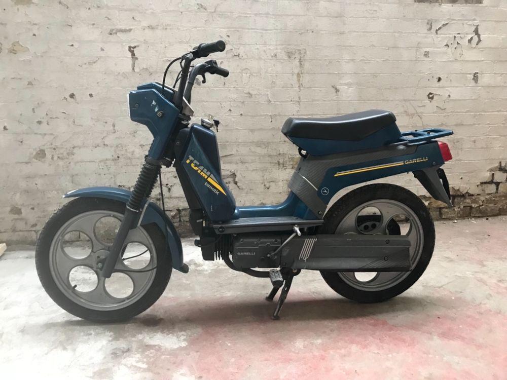 Uk Scooter Sales On Twitter Ebay Garelli Bimatic 50cc Moped Rare 1988 Https T Co E8pe8sxtlf
