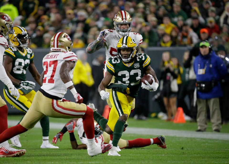 Here's one way for the Packers to turn around their season: Give the ball to Aaron Jones https://t.co/qS1W99oDcR