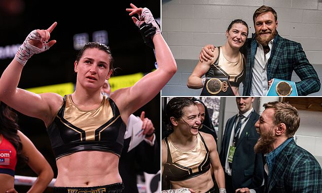 Conor McGregor congratulates compatriot Katie Taylor after she retains world titles with dominant points win https://t.co/zN9OmUcId4