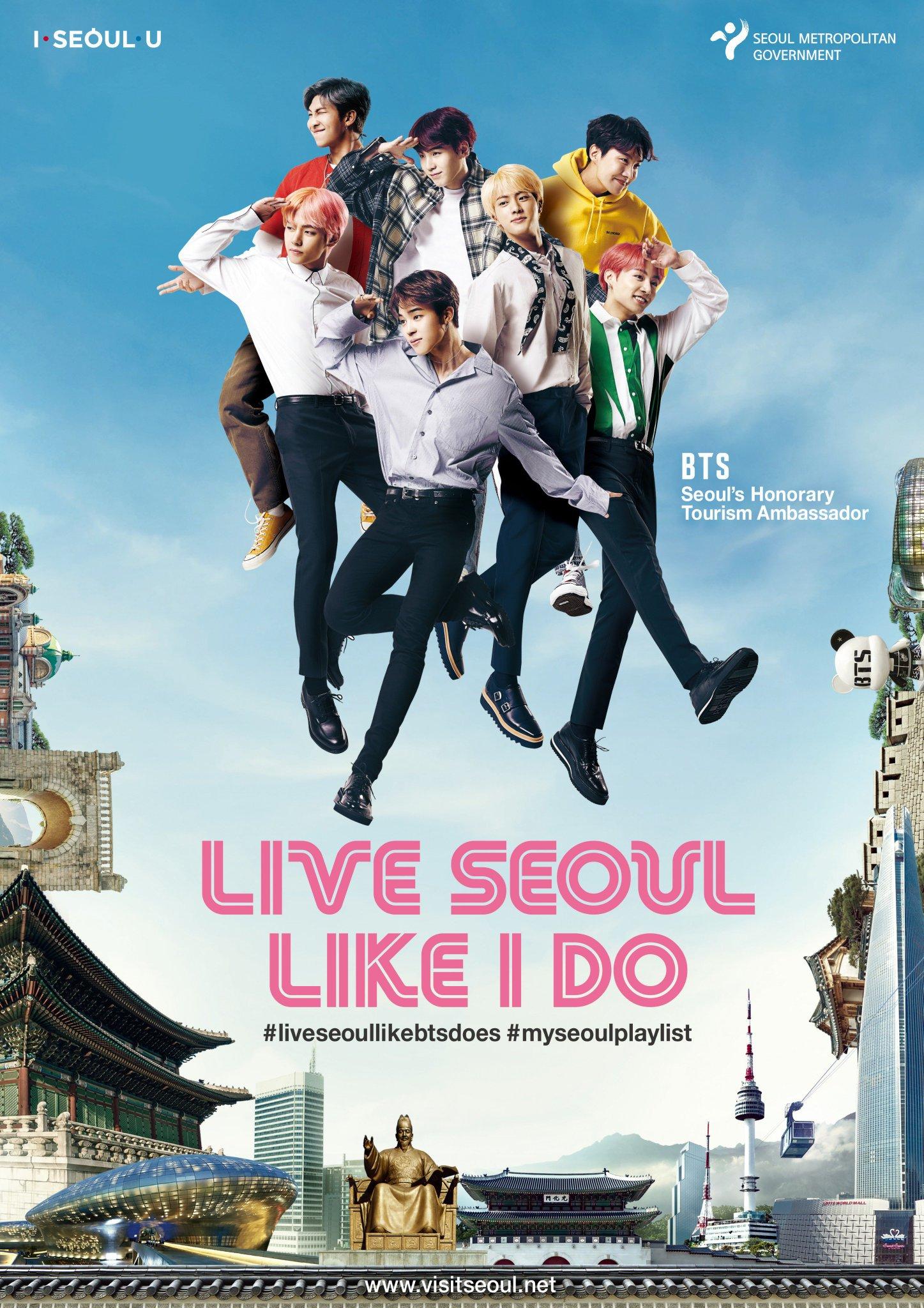 Picture Bts Live Seoul Like I Do 2018 Seoul City Print Ads