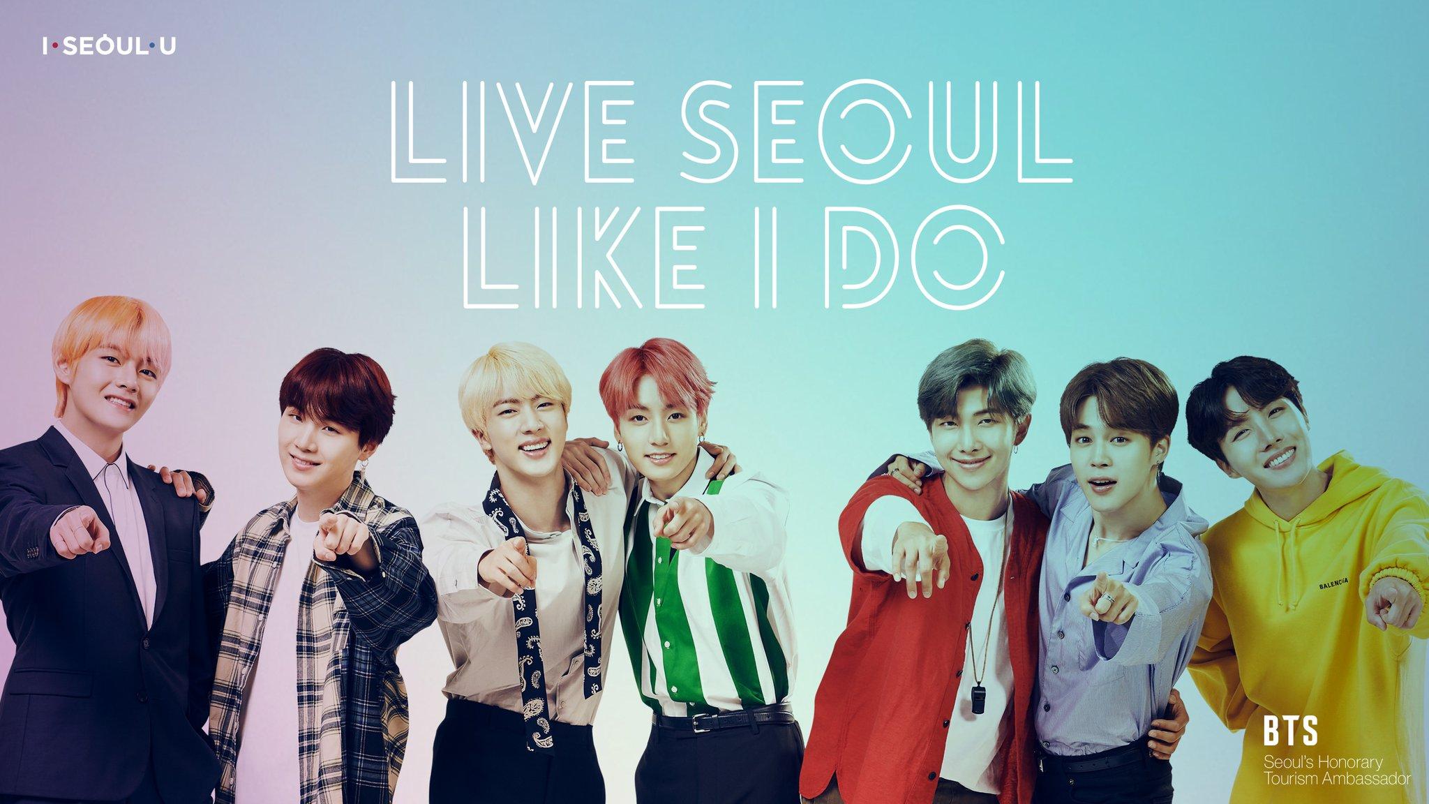 Picture] BTS Live Seoul Like I Do 2018 Seoul City Print