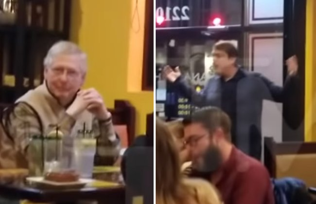 McConnell And Wife Berated In Packed Restaurant; Diners Side With Mitch https://t.co/x3NuTWZucQ