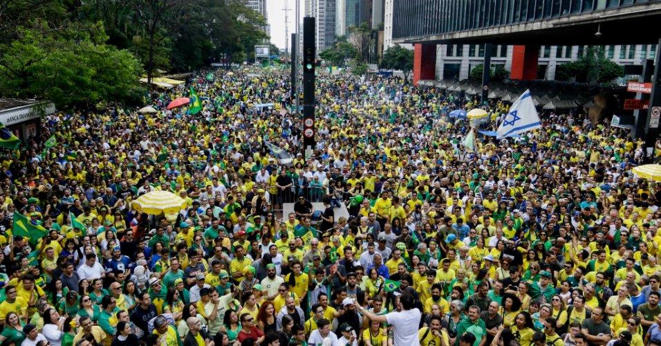 Um dia após protestos contra ele | Atos pró-Bolsonaro são realizados nas cinco regiões do país https://t.co/NA1rGbzWDp