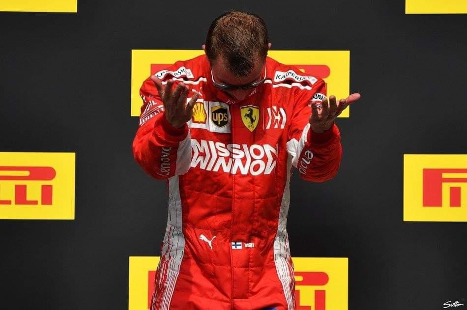 Kimi's farewell message to Ferrari fans