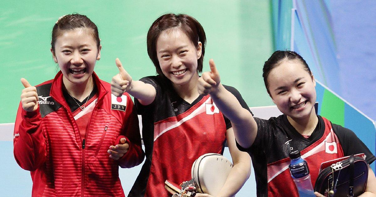 「もう私が選手として卓球界を引っ張っていかなくても大丈夫、後輩たちがさらに飛躍し、日本代表として頑張ってほしい、という想いです」。リオ五輪団体で銅メダルを獲得した福原愛選手が現役引退を表明しました。 https://t.co/lSuaYTorP9
