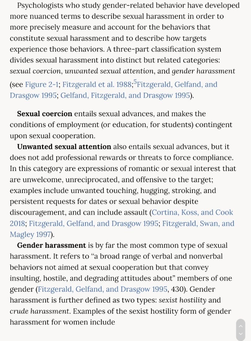 Gender Harassment Definition