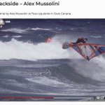 Image for the Tweet beginning: Alex Mussolini hits the lip