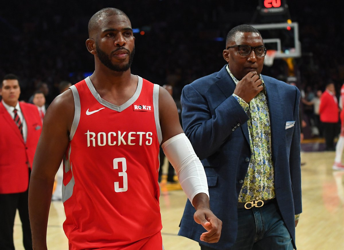 Chris Paul suspended 2 games for Lakers-Rockets fight https://t.co/2qFZlFeIgf #khou11 #HTownRush  Photo: @usatsimg