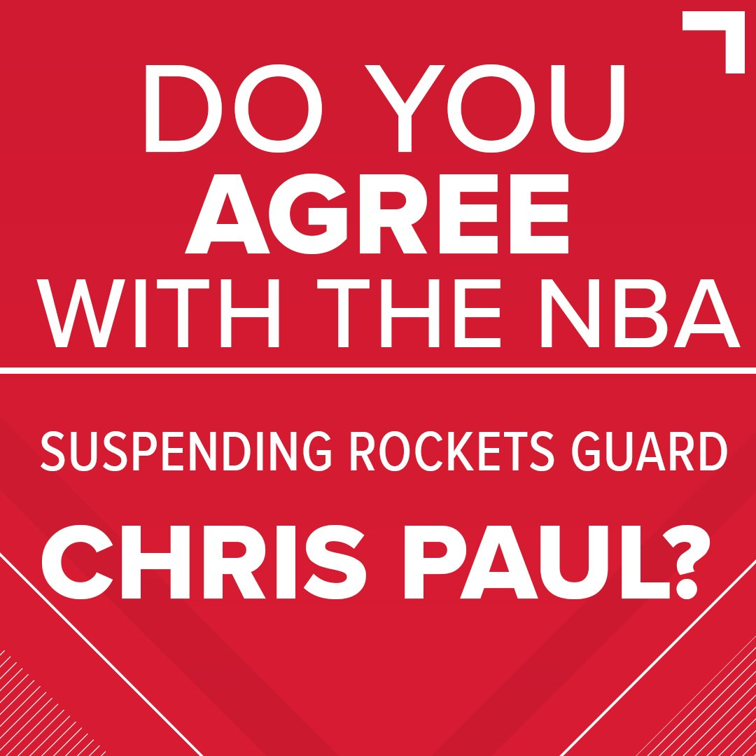 What do you think should've been done about Saturday night's fight? The NBA, after all, agreed that Rajon Rondo spit on Chris Paul. 🏀