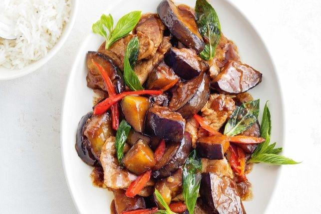 #RecipeOfTheDay #southernstarcatering @SStarCatering Thai stir-fried pork with eggplant https://t.co/UDj3Q0FyDj https://t.co/w6Jka5heMs