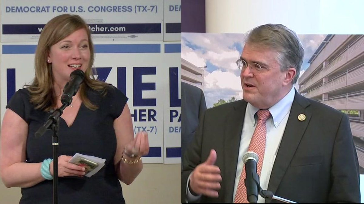 WATCH LIVE: Rep. @johnculberson and @Lizzie4Congress debating right now for the hotly-contested Texas U.S. District 7 seat, hosted by @UHouston | Live stream: https://t.co/RxL6vHqBao