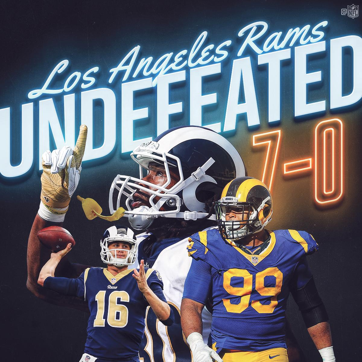 SEVEN and 0. #LARams https://t.co/XmayR5oeiw