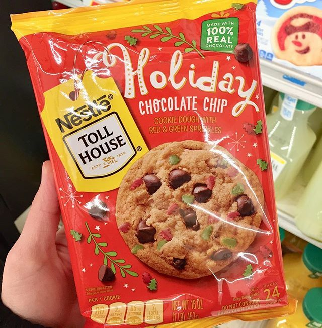 Three Snackateers On Twitter Spotted Nestle Toll House Holiday