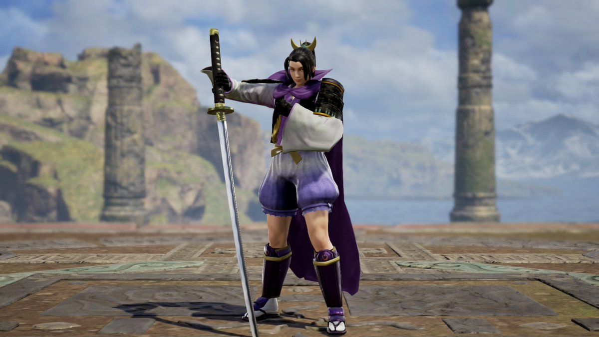 Made Ranmaru from SW4 in Soulcalibur 6! :D /// 戦国無双4の蘭丸くん!!#