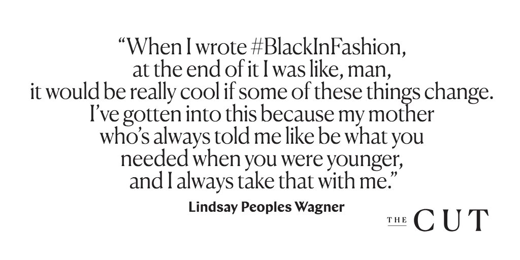 ".@lrpeoples talks writing  on t#BlackInFashionhis week's : ""At#CutOnTuesdays the end of it, I was like, man, it'd be really cool if some of these things change"" https://t.co/Rk1TbDrVBZ"