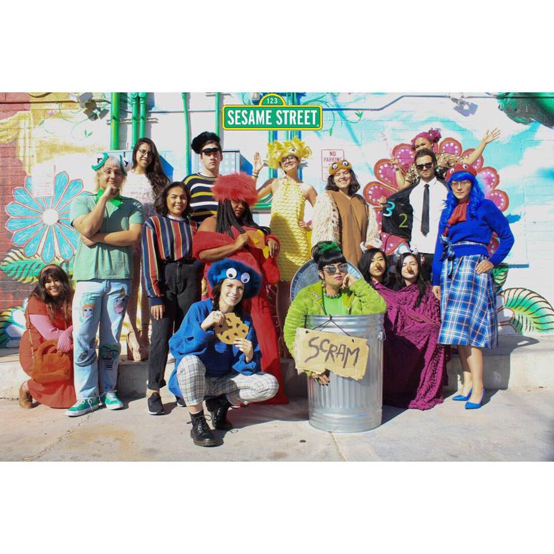 3d0ad6cef37 ... away at  BuffaloExchange  LasVegas! Stop by to create Sesame Street  looks for your whole crew!  Halloween  Halloween2018  HalloweenCostumes   DIYCostumes ...