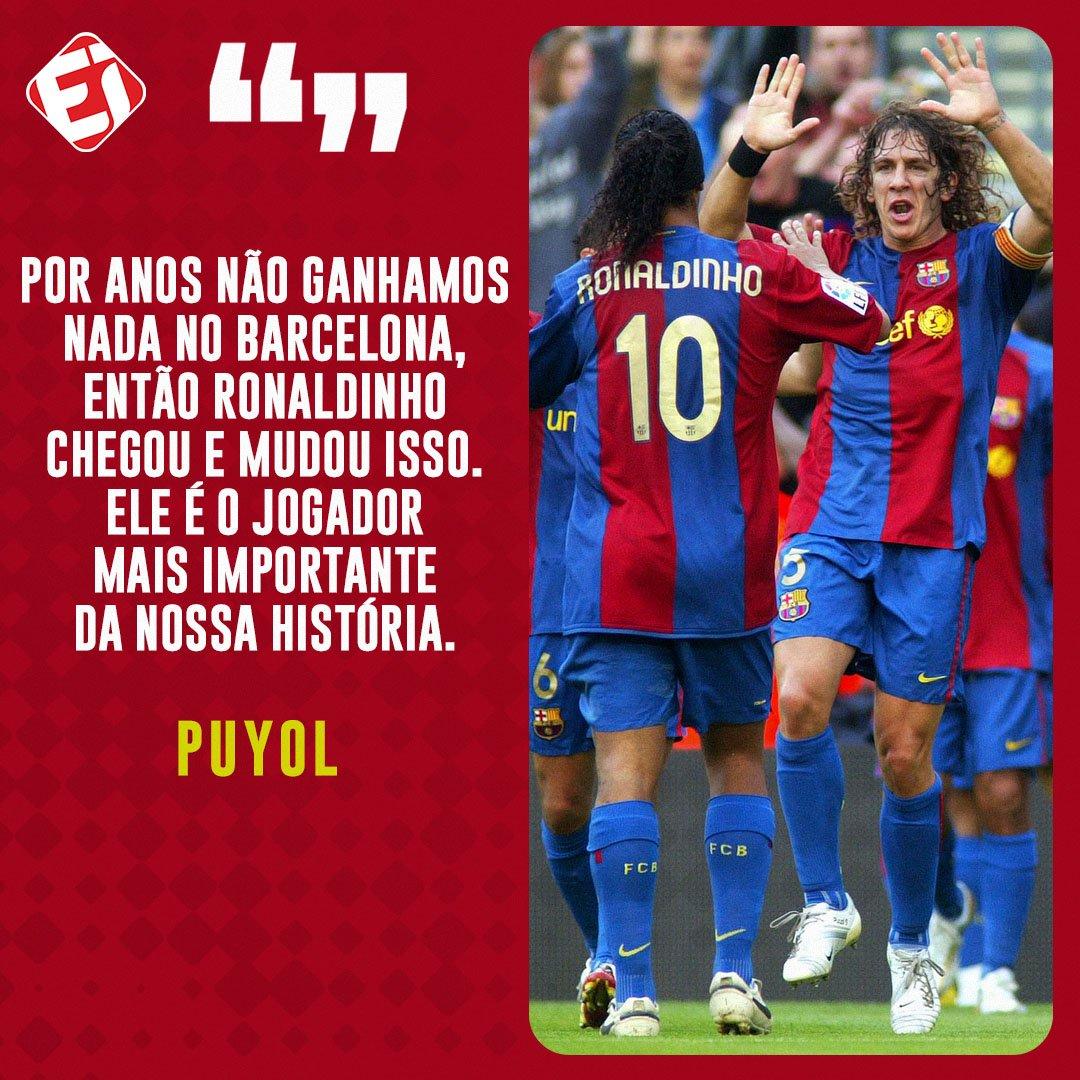 Concorda com o eterno capitão do Barça?