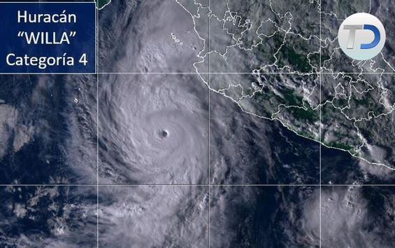 #NACIONAL  Huracán 'Willa' se fortalece y alcanza categoría 4  ➡️ https://t.co/bwGZSuJ4NZ