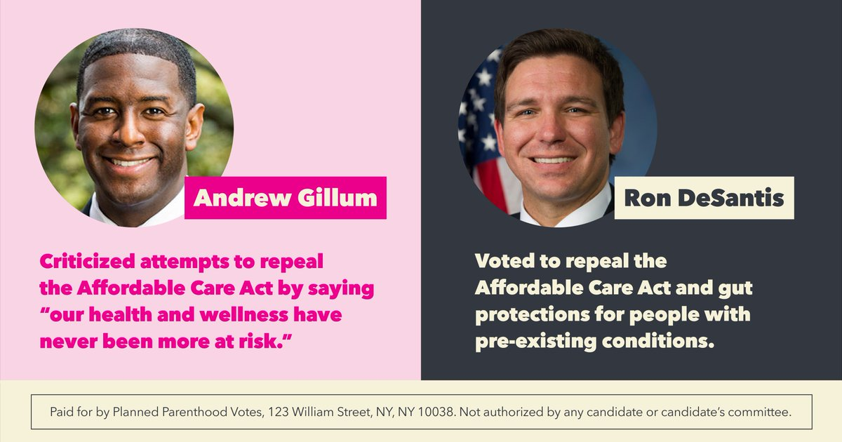 Floridians' rights and access to health care is on the line. #FLGovDebate