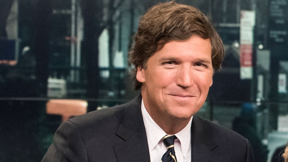 """Fox News host Tucker Carlson tells Politicon crowd that media outrage over  the death of Jamal Khoshaggi is """"a game,"""" and says that no one even knew  his name ..."""