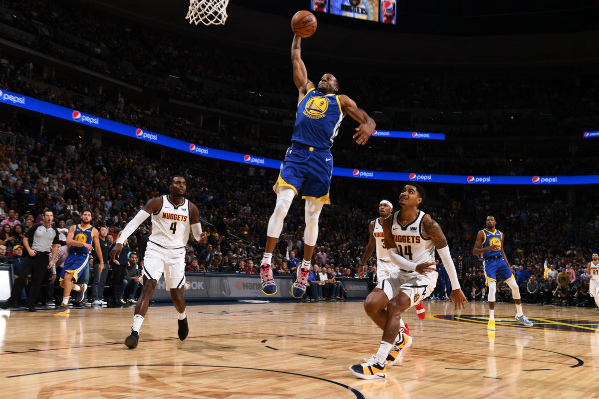 Catch all the best moments from last nights game. #JBLxGSW