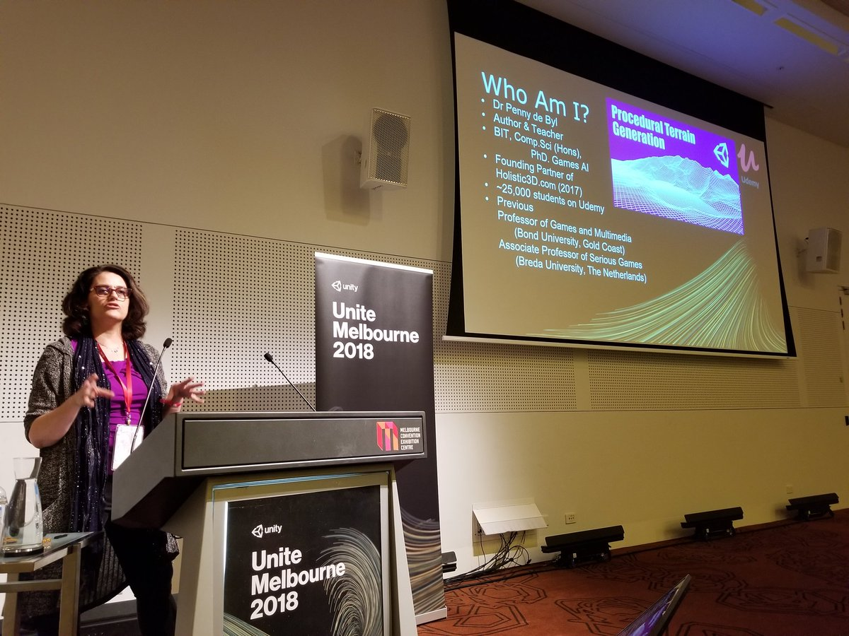 Michelle at Microsoft #DDDPerth on Twitter: