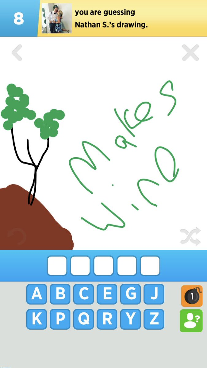 So Nate And I Are Trying To Bring Draw Something Back Hahhaaha