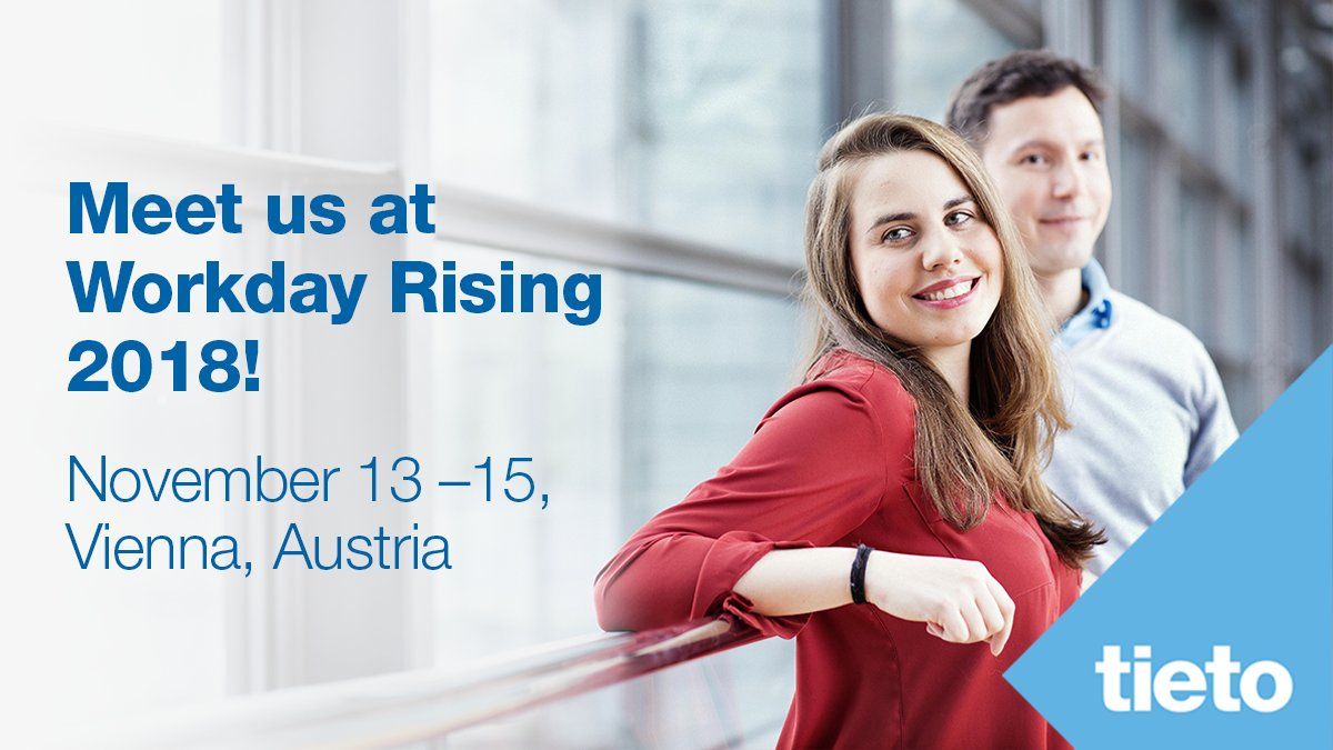 "Coming to <a href=""https://twitter.com/hashtag/WDRising?src=hash"" target=""_blank"">#WDRising</a> in Vienna? Stop by our booth #315 to discuss how to achieve exceptional employee experience in your organization. <a href=""https://t.co/zzO2VsFYeL"" target=""_blank"">bit.ly/2lIFCrc</a> https://t.co/15UbFHwHRA"