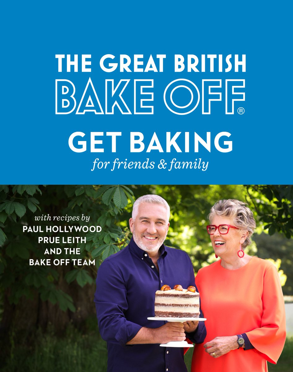#Giveaway! RT & follow for a chance to #win The #GBBO cookbook with recipes by Paul Hollywood, Prue Leith and the bakers. Entries close 28/10 at 11:59pm (GMT). T&Cs: bit.ly/2xWRfA9