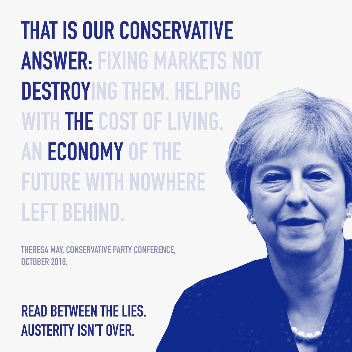 The Tories thought austerity would fix our economy. And has it?  Nope – they've borrowed more in eight years than any government ever. Read between the lies 👇