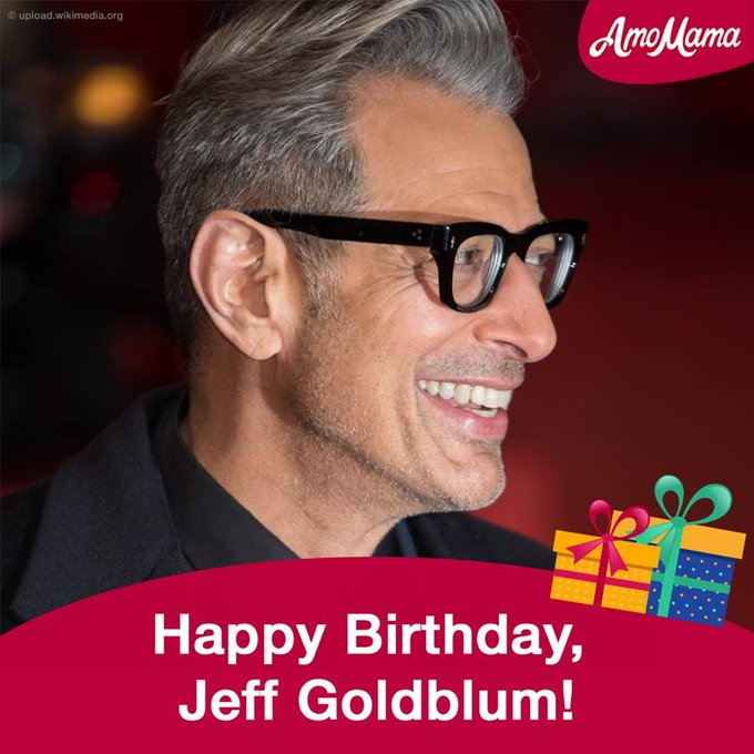 Jeff Goldblum turned 66! Happy Birthday!