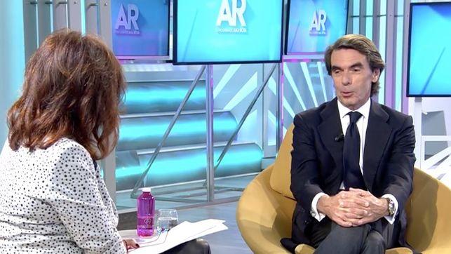 Aznar habla sobre el líder de Vox, Santiago Abascal: 'Es un chico lleno de cualidades' https://t.co/HEPDnLY4Gs