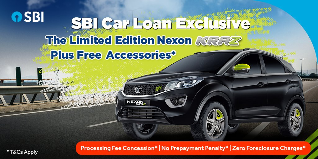 State Bank Of India On Twitter Exclusive Sbi Car Loan Offer Only