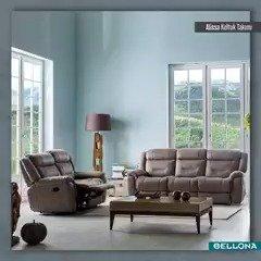 Alissa, sahip olduğu üst düzey fonksiyonellik sayesinde mükemmel bir oturum konforu sağlar. http://bit.ly/AlissaTakım #Bellona #TarzArayanaBellona