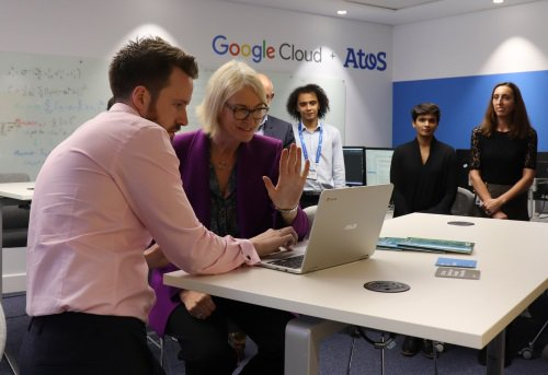 Atos inaugura un laboratorio de inteligencia artificial en Londres junto a @Google #Cloud...