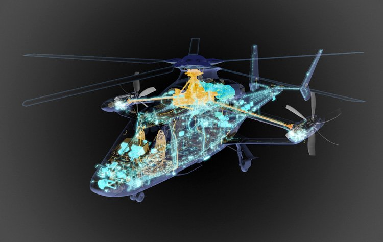 """Airbus Helicopters"" تُقِر مشروعا تصميميًا لمروحية Racer السريعة DqGYdEwWkAAsbnq"