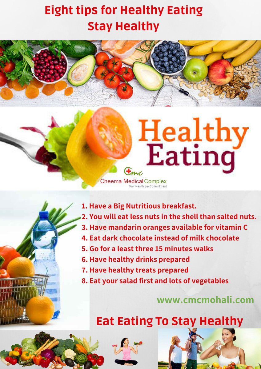 Cmc Hospital On Twitter Eat Healthy Stay Fit And Live Well Start Eating Well With These Eight Tips For Healthy Eating Eathealthy Healthyfood Eatclean Healthyeating Healthlife Fitness Cmc Healthydiet Https T Co Nkwdnsohmm