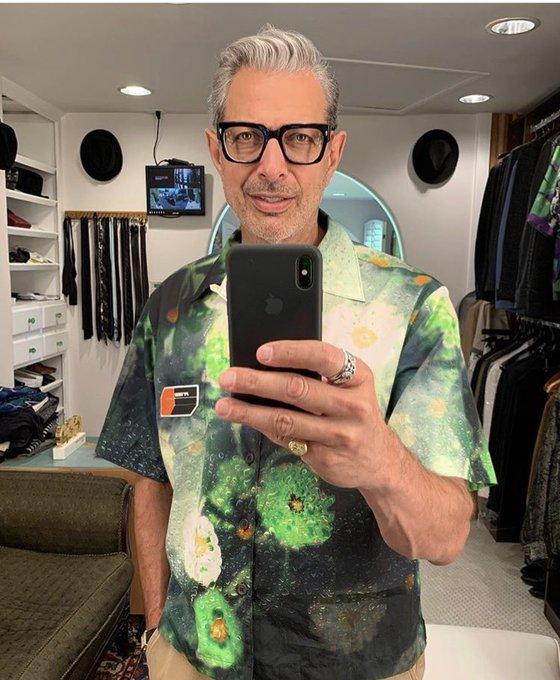 Happy birthday to the greatest fashion icon of our generation, jeff goldblum