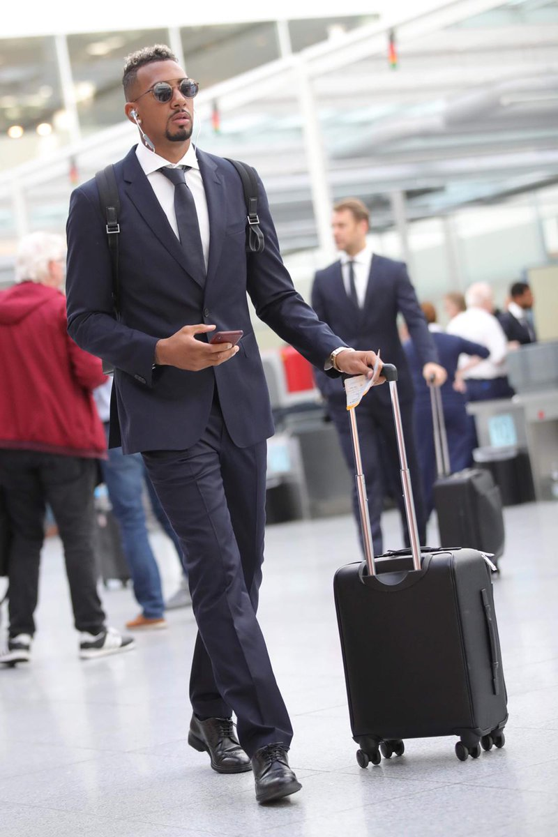 Jerome Boateng On Twitter Suit Up For Championsleague Off To