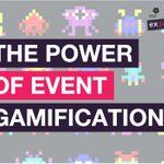 Image for the Tweet beginning: Designing gamification into your event
