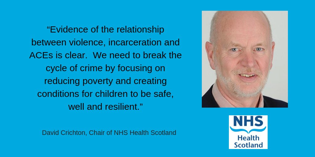 Catch our new Comment piece in @HolyroodDaily on tackling #AdverseChildhoodExperiences to prevent crime by our Chair @DavidCrichton16 . Out now. #ACEs #ACEAwareNation