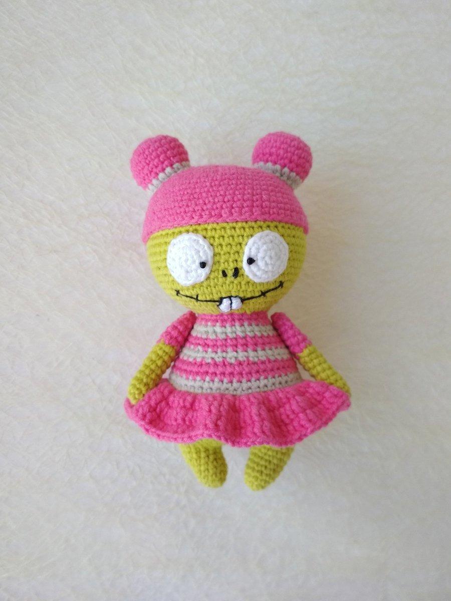 Crochet Pattern of Zombie from