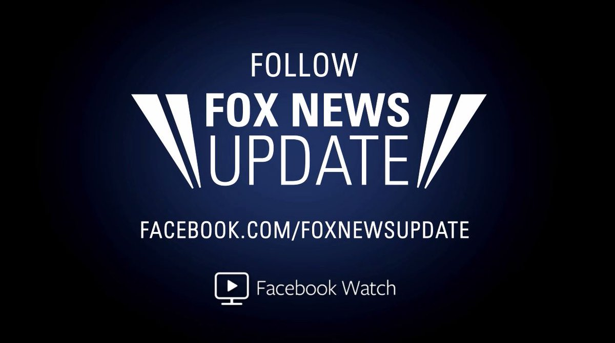 .@SchmittNYC is live with the 'Fox News Update' on Facebook Watch: https://t.co/hNrB8xzepH https://t.co/Rj1zsbu8Xi