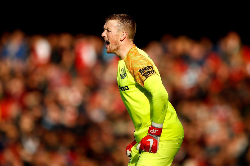 🧤 TOP GLOVE 🧤 🥅 Saves crucial penalty at 0-0 🔵 His side go on to win 2-0 🎖️ Man of the Match performance This weeks @talkSPORT2 Top Glove as selected by @DickieLee is the @Everton goalkeeper Jordan Pickford! 👏 📻 Tune in → tlks.pt/2ListenLive