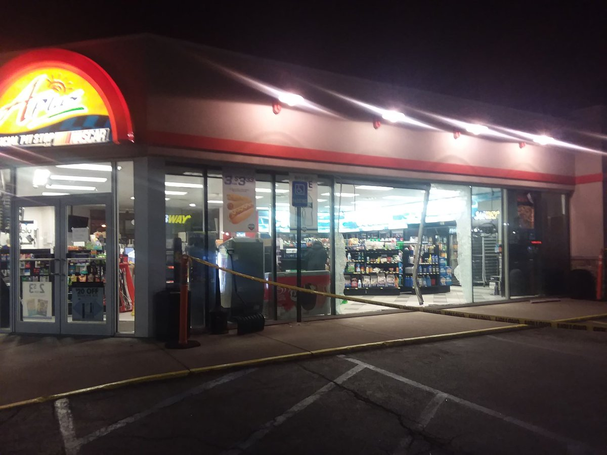 Penn Yan gas station closed after vehicle crashes through it (photos)