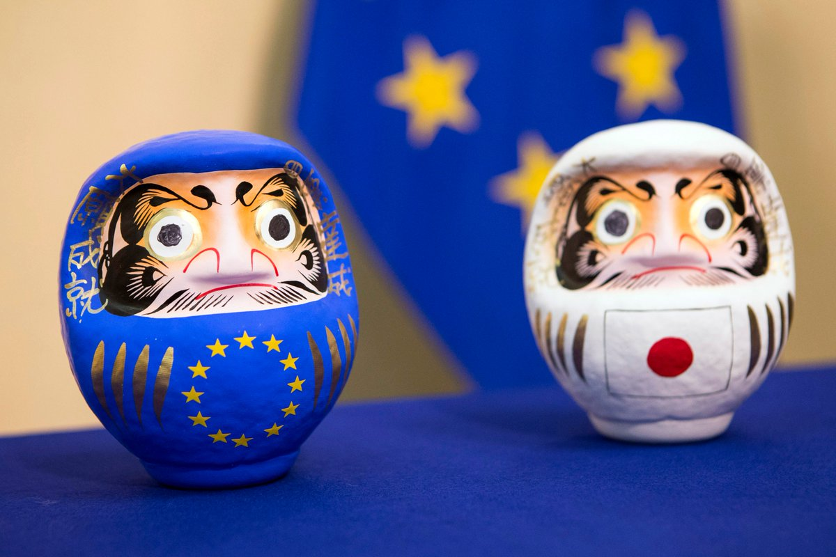 We are meeting with Japan to discuss economic cooperation. Global trade challenges, energy and climate change, international investment and digital economy topics are addressed → https://t.co/TE82B06c9x #EUTrade